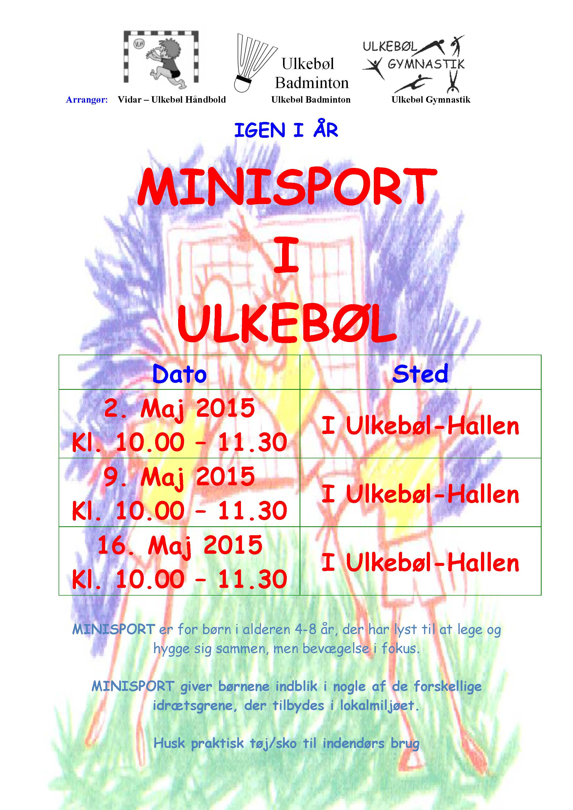 Nyhed 2015 Minisport