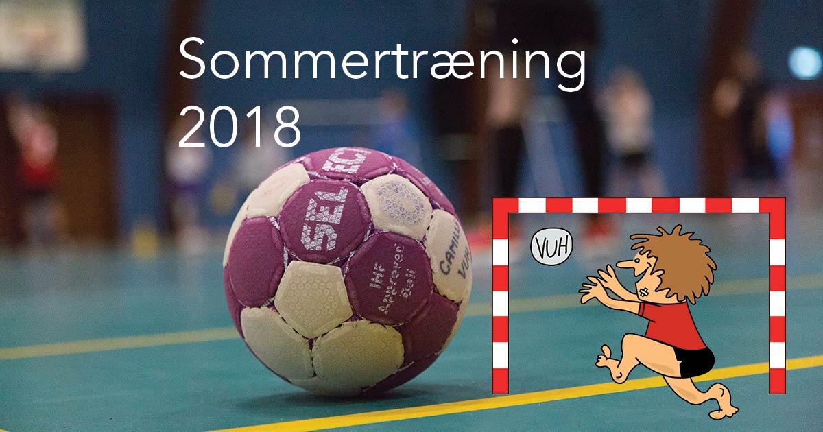 Sommertræning 2018